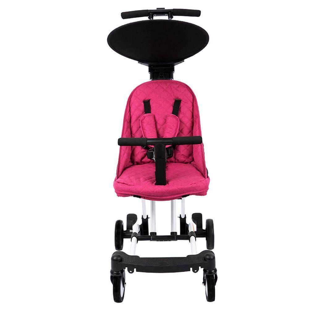 Pawaca พับรถเข็นเด็กยางรถสามล้อเด็กรถเข็นรถเข็นเด็กทารกจักรยานส่งของจักรยาน