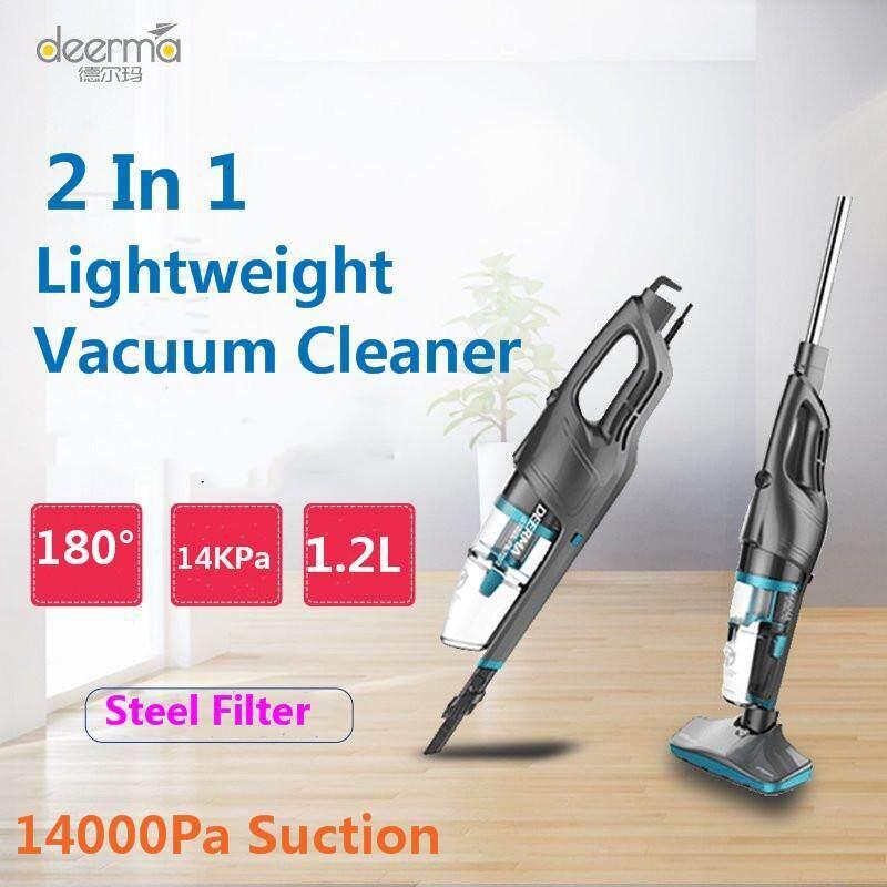 Deerma DX920 Household Hand-held Lightweight Vacuum Cleaner with Steel Filter Singapore
