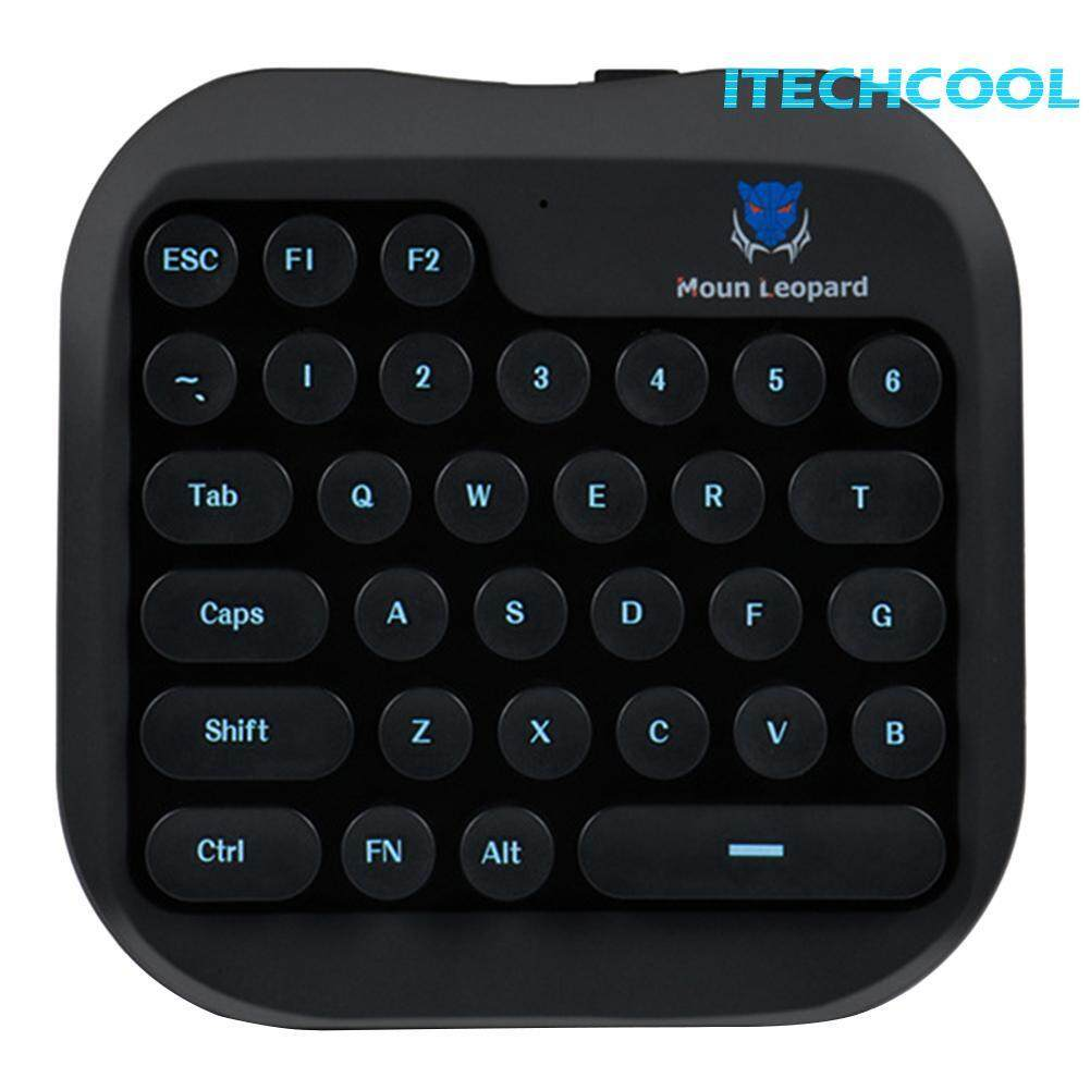 itechcool USB Wired Gaming Keypad One-handed Membrane Keyboard for PUBG Mobile Black Singapore