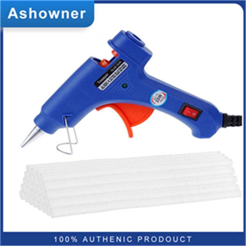 Ashowner Keo Nóng Chảy 20W, Với 30 Cái Keo Dính 7Mm * 200Mm Dụng Cụ Sửa Chữa Nhiệt Điện Mini Công Nghiệp