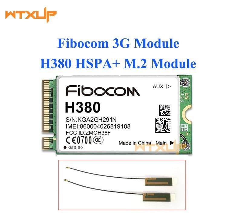H380 HSPA+ Module support GSM/GPRS/EDGE UMTS/HSDPA/HSUPA/HSPA+ M.2 interface 3G Card