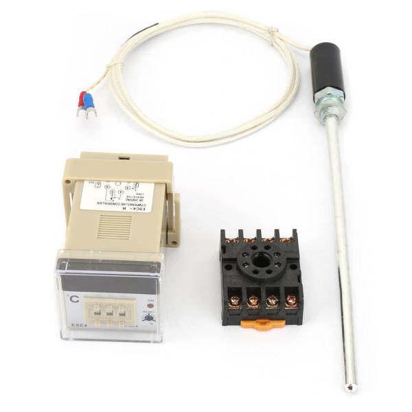 Bộ điều nhiệt nhiệt độ kỹ thuật số E5C4-R với đầu dò cặp nhiệt điện loại K