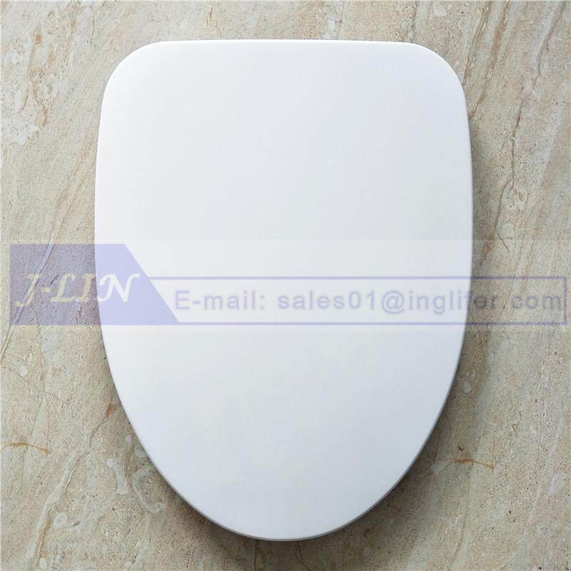 TOTO Toilet Seat with Cover - Premium Material & Easy Clean & Classic Design - Round Toilet Seat Cover White