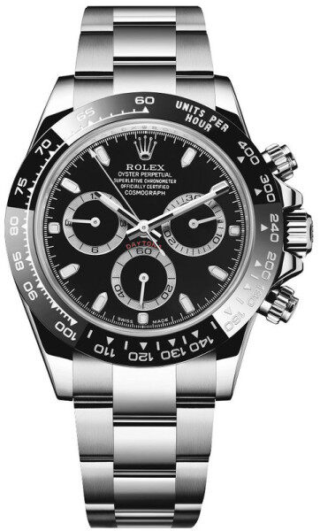 Rolex_Daytona_Oyster_Perpetual_ Mineral Glass Automatic Man Watch With Free Genuine Gift Box Malaysia