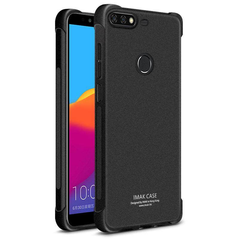 For Huawei Nova 2 Lite IMAK Shockproof Case 5 99 inches Soft TPU Silicone  Airbag Cover With Screen Protector