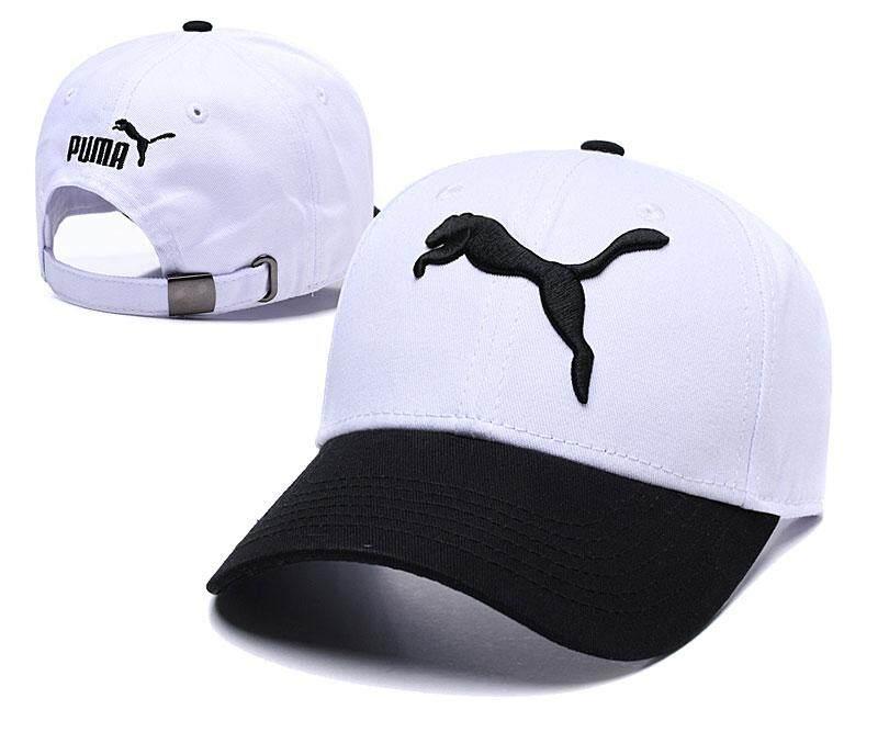 PUM Fashion Embroidered Women's Sun Hat Hot Golf Baseball Cap Men's Dad Hat