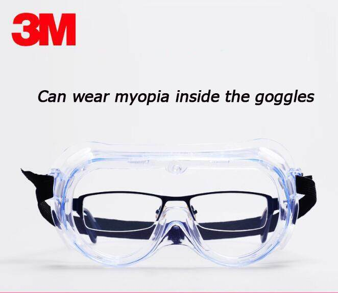 Industrial Anti-Fog Approved Wide-Vision Lab Safety 3M Goggle, ANSI Z87.1 Approved