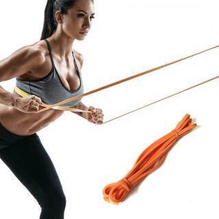 Miễn Phí Vận Chuyển Dây Kháng Lực Đàn Hồi, Vật Lý Co Giãn Tập Luyện Thể Hình Tập Gym Yoga thumbnail