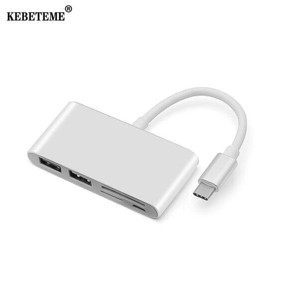 Bảng giá Kebeteme 5 Trong 1 USB C Đầu Chia Đầu Đọc Thẻ Loại USB C OTG USB-C Micro USB Power Bộ Chuyển Đổi Cho Macbook Air Pro Surface Pro 6 Huawei Mate20 Phong Vũ