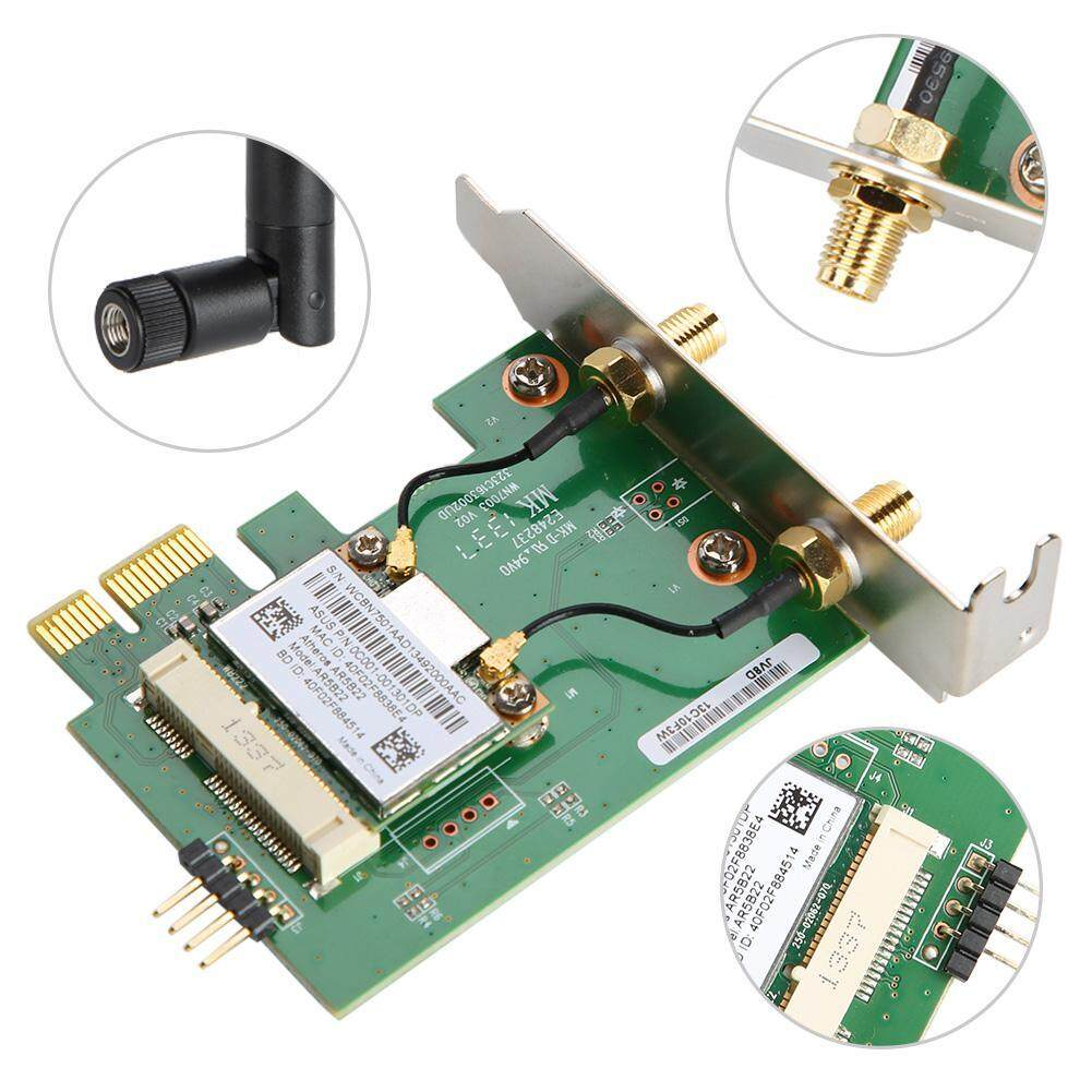 AR5B22 Dual Band 300M Wireless PCI-E WiFi Card Adapter Bluetooth 4.0 Network Card For Desktop