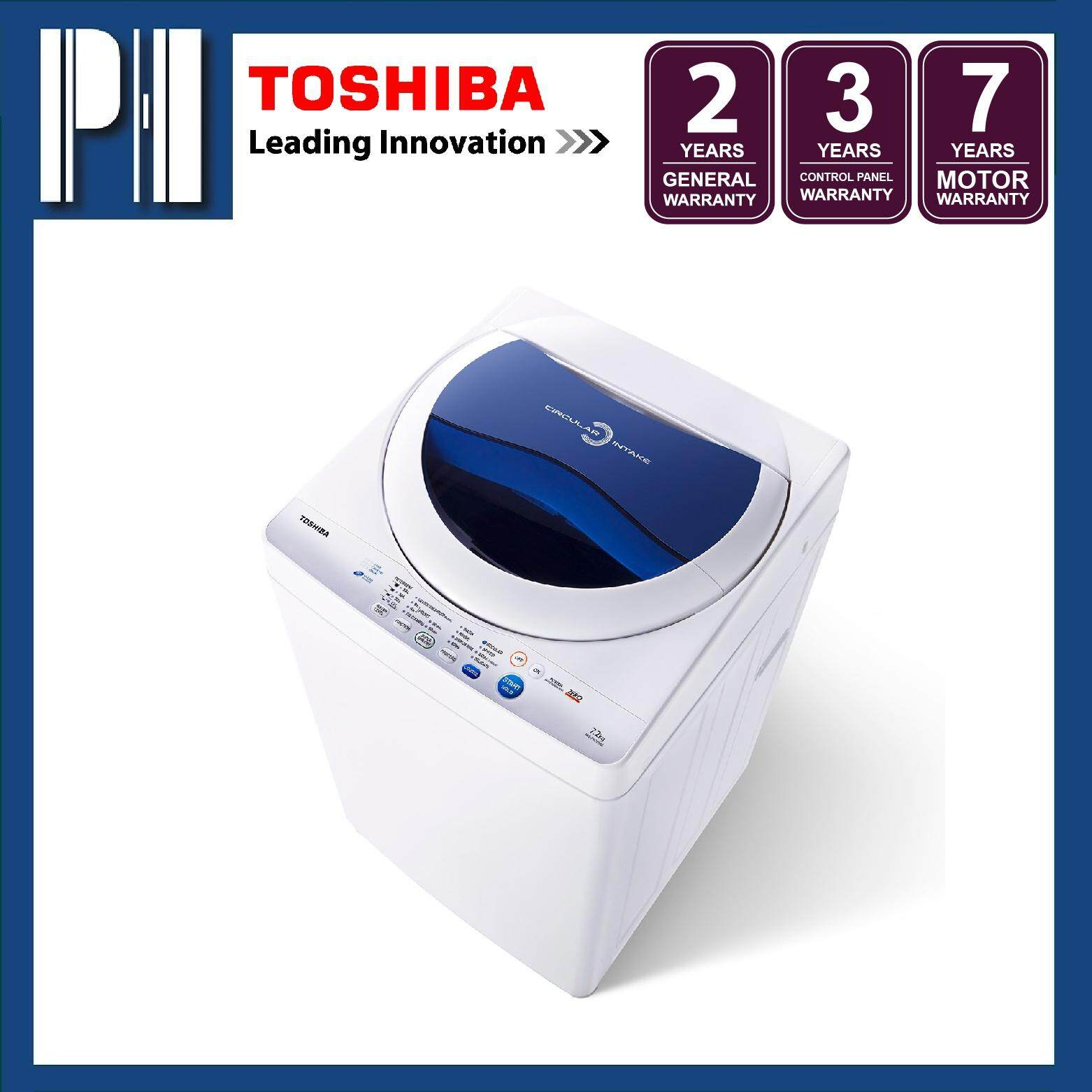 TOSHIBA AW-F820SM(WB) / AWF820SM 7.2KG Fully Auto Washing Machine/Washer