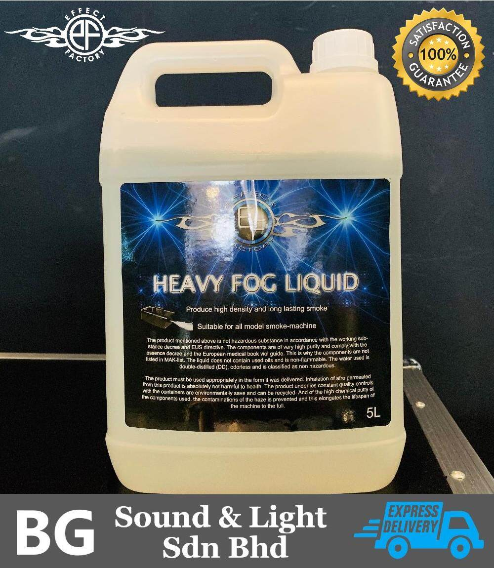 Effect Factory Heavy Fog Liquid / Smoke Liquid 5 Liter Bottle