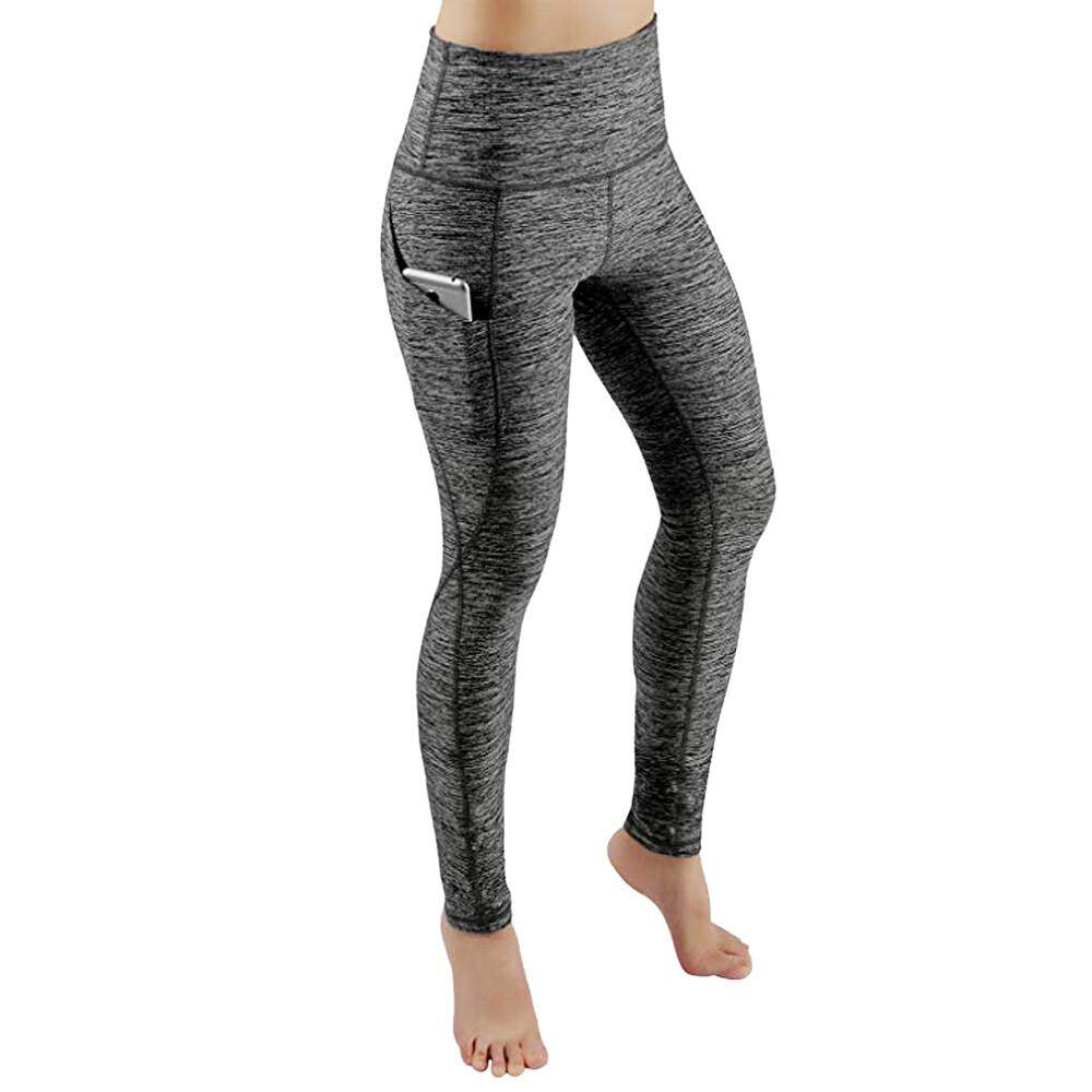 cb62acd9470738 Tianji Store Women Workout Out Pocket Leggings Fitness Sports Gym Running  Yoga Athletic Pants