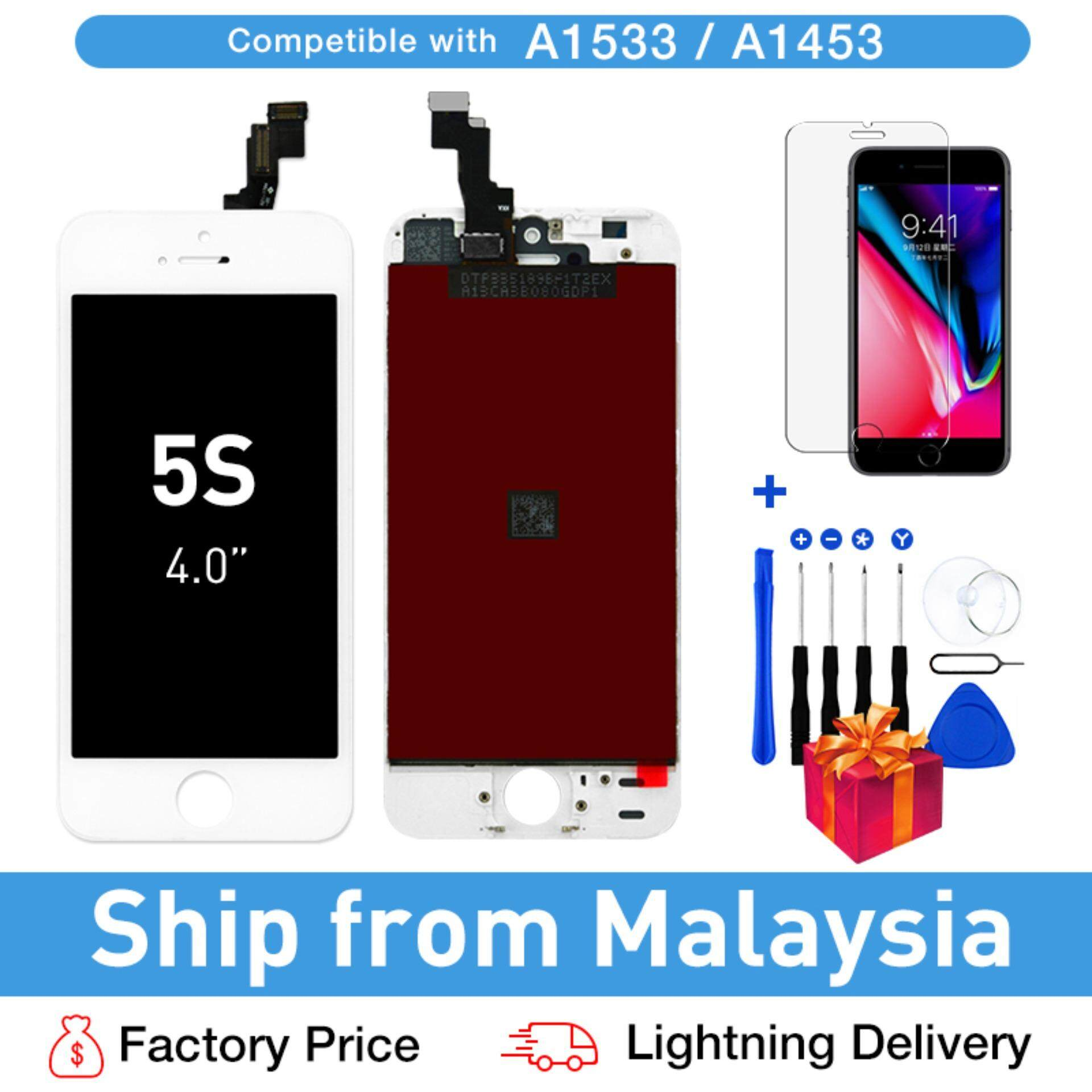 LCD Screen Replacement For iPhone 5s display For iPhone 5 iPhone 5c iPhone  SE lcd screen and digitizer LCD Display Touch Screen Digitizer +Free