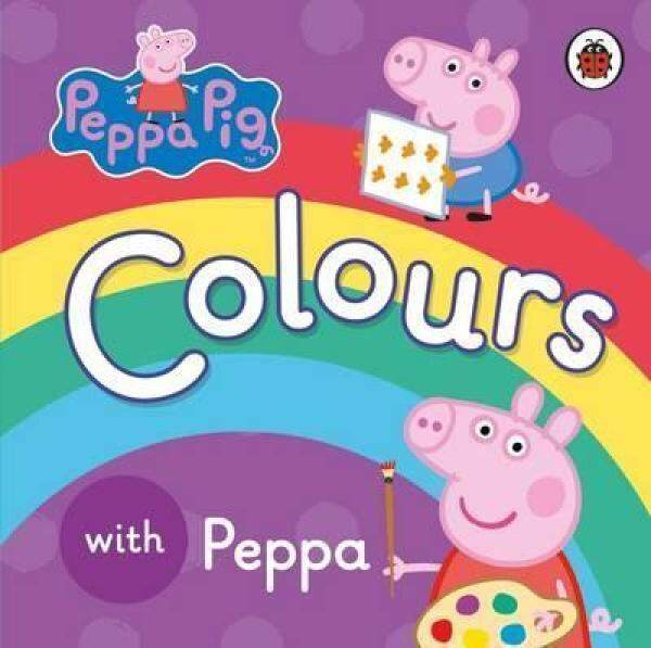 Peppa Pig: Colours with Peppa (Baby Board Book) Malaysia