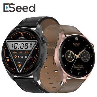 Đồng Hồ Thông Minh ESeed, DT3 Nam Nữ Màn Hình 1.36 HD, Cuộc Gọi Bluetooth Sạc Không Dây 5Menu ECG IP68 Không Thấm Nước Dành Cho Android IOS thumbnail