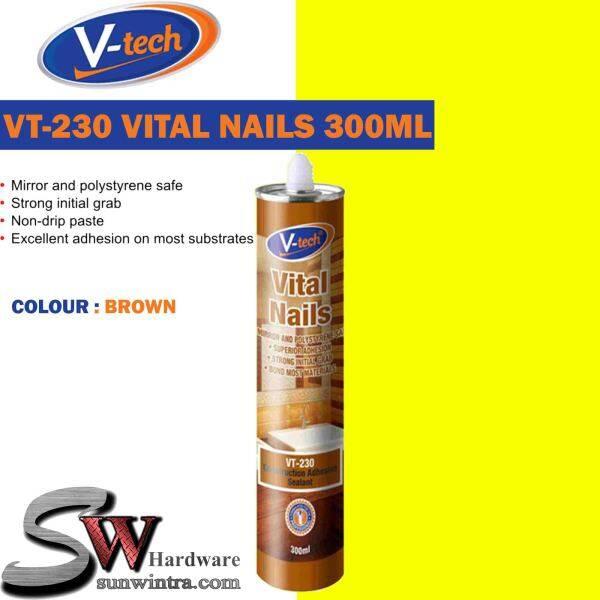 V-TECH VT-230 VITAL NAILS SEALANT 300ML