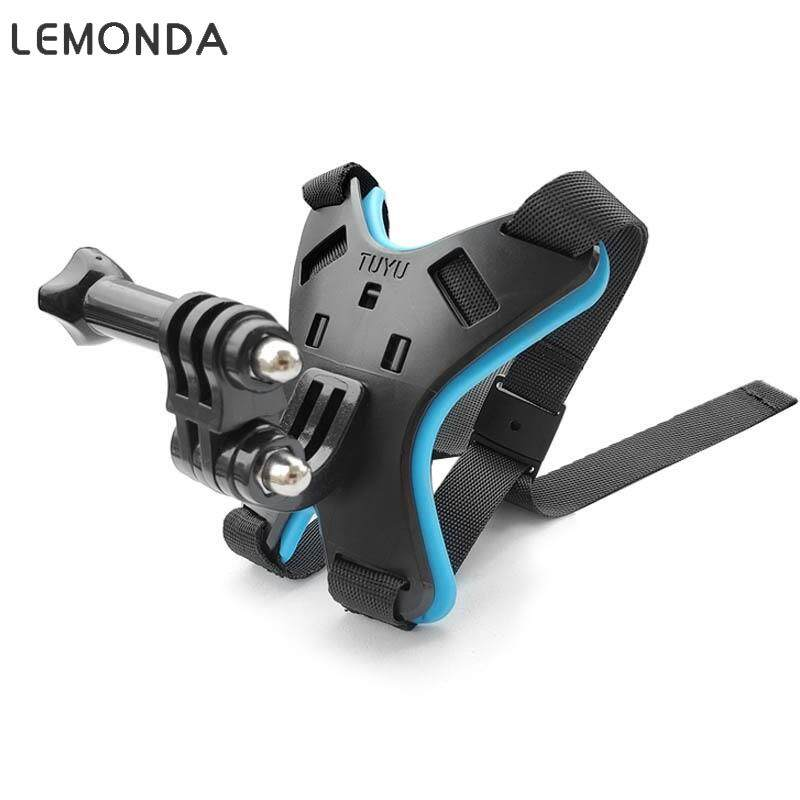 LEMONDA Giá Gắn Mũ Bảo Hiểm Xe Máy Đai Giữ Cằm Cố Định Dành Cho Camera Hành Động GoPro Hero 8/7/6/5