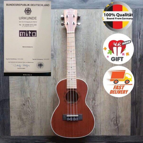Mito Full Mahogany Wood U-24T 24 inches High-Quality Ukulele # Taylor Yamaha F310 Design KOA 21 23 Ibanez Fender Gibson Malaysia