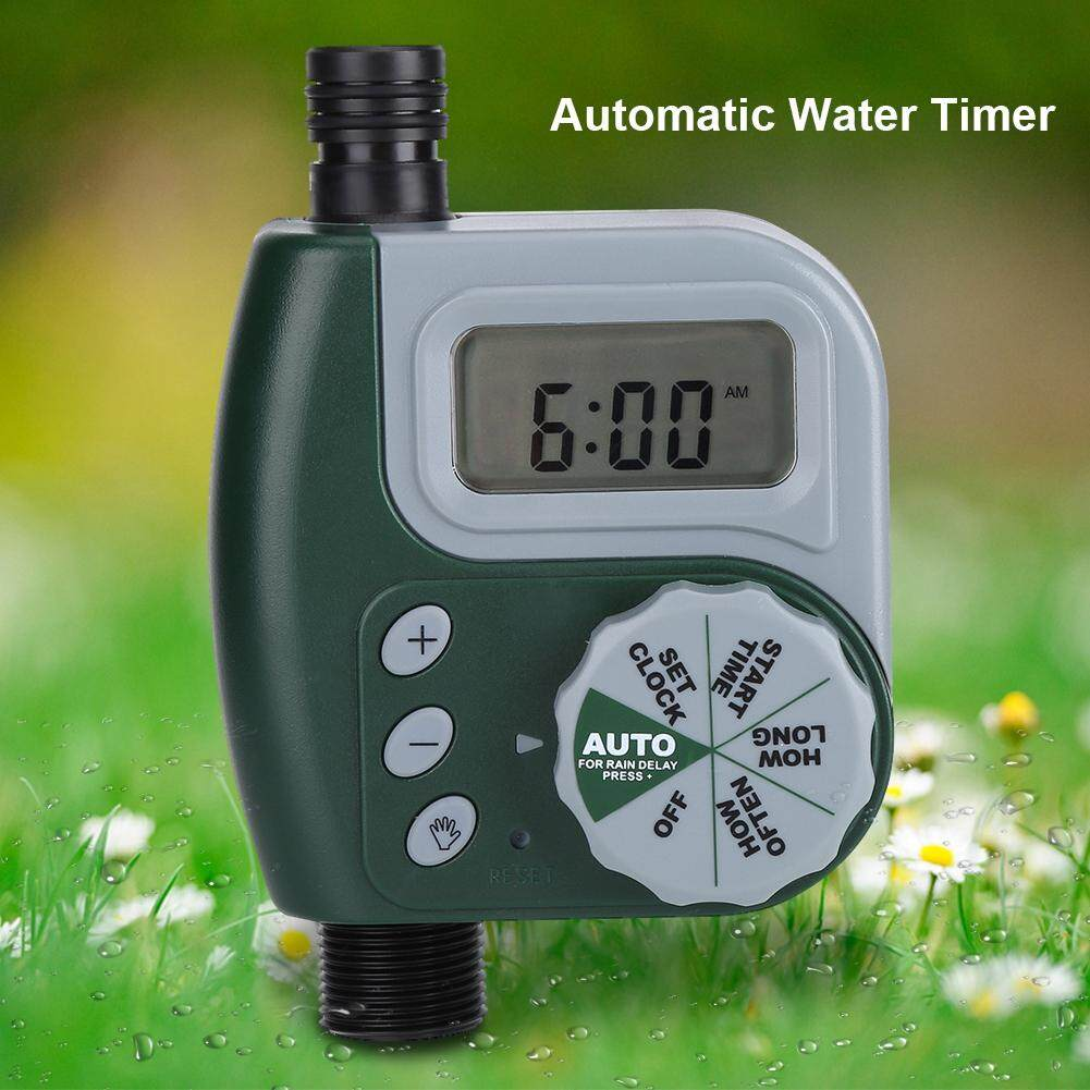Automatic Digital Garden Water Timer Watering Irrigation System Controller G3/4 Connector