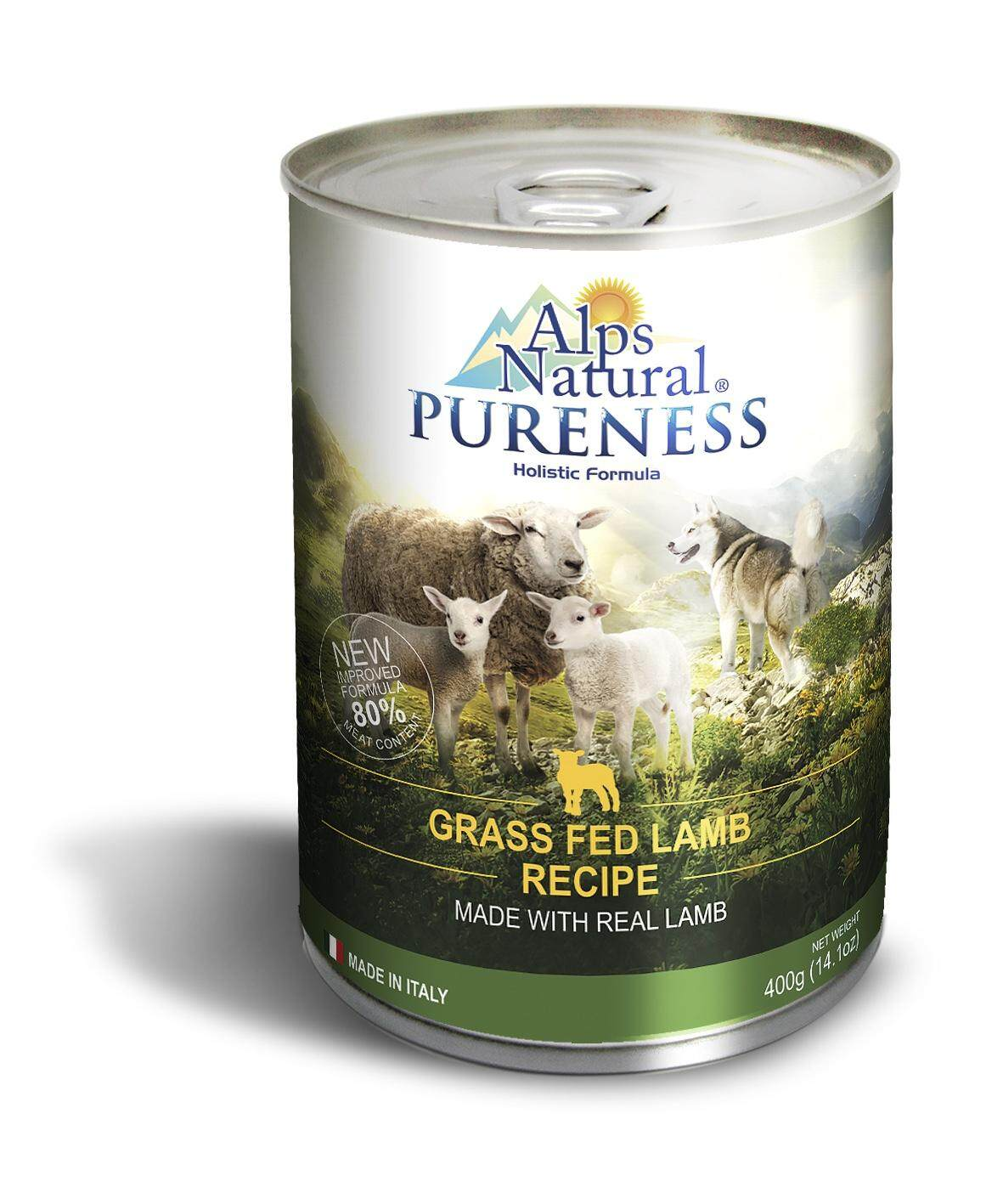 Alps Classic Lamb Can 400g / Alps Natural Pureness Grass Fed Lamb 400g