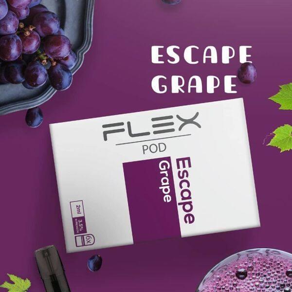 FLEX Compatible RELX Pods - Escape Grape Malaysia