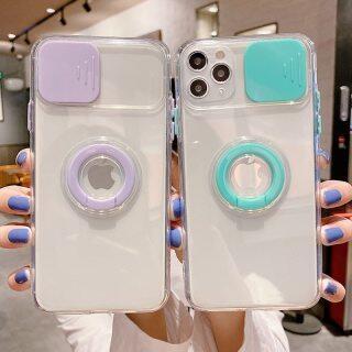 Ốp Điện Thoại, Ốp Lưng Trong Suốt Chống Sốc Cho iPhone 12 11 Pro Max 12 Mini XR XS Max X 7 8 Plus thumbnail