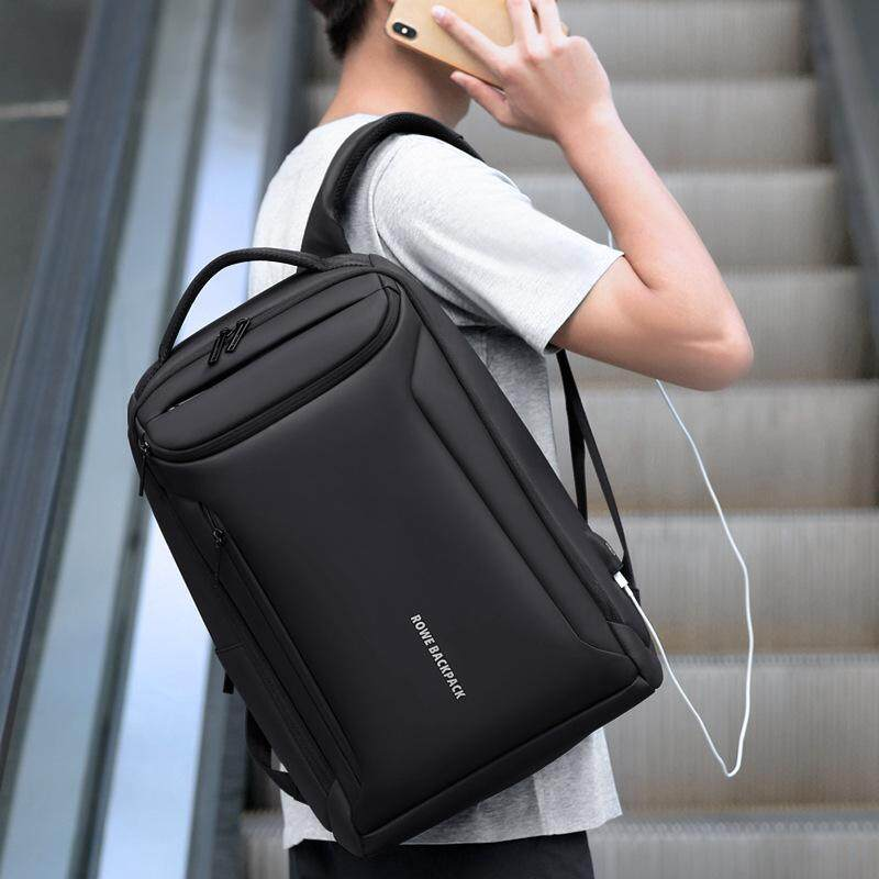 2019 New Men Backpack Business Multifunction Usb Charging Fashion Travel Bag Waterproof 15.6  laptop bag