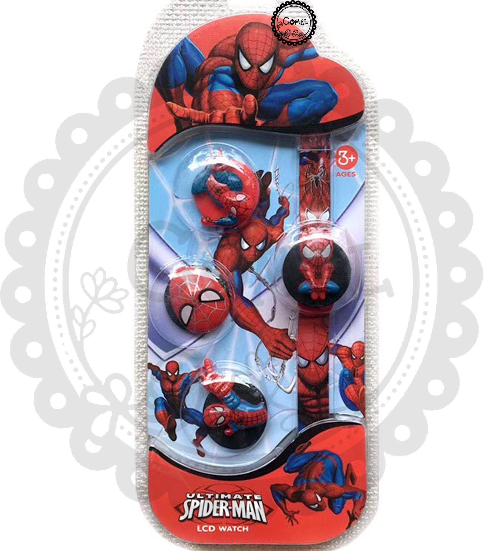 Comel Spiderman Toy Watch Malaysia