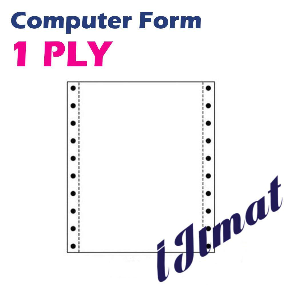 I Jimat Sonoform 1ply Computer Form 1 Ply Paper **quality And Image Guaranteed** By I Jimat Enterprise.