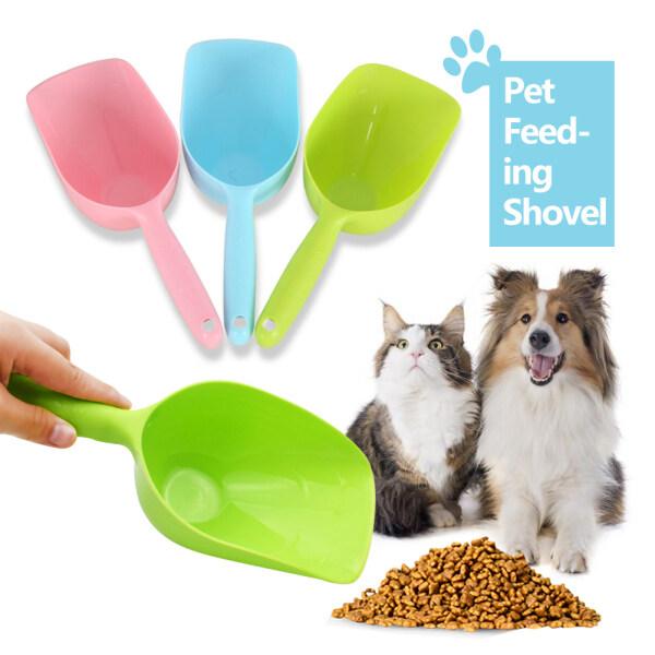 Hittime 1 Cái Xẻng Cho Thú Cưng Ăn Muỗng Thức Ăn Cho Chó Mèo Chó Con Muỗng Dày Sức Chứa Lớn Nhựa Vật Nuôi Mèo Trung Chuyển, Xẻng Cho Ăn Thức Ăn Cho Thỏ Thú Cưng