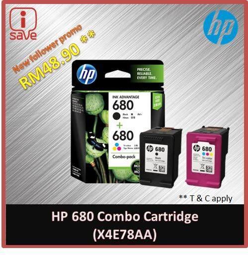 HP 680 combo Ink Cartridge