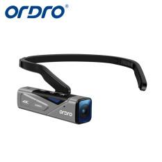 ORDRO Máy Quay 60 FPV Cầm Tay EP7 4K Camera Hành Động Đeo Đầu Không Dây Cơ Thể Mini Máy Quay Video, Camera Ghi Vlog EP7 Bộ Ổn Định Khớp Nối Tích Hợp