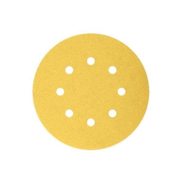 Bosch Sanding Disc Velcro 8Holes G240 125mm (100-Piece) 2608608T71