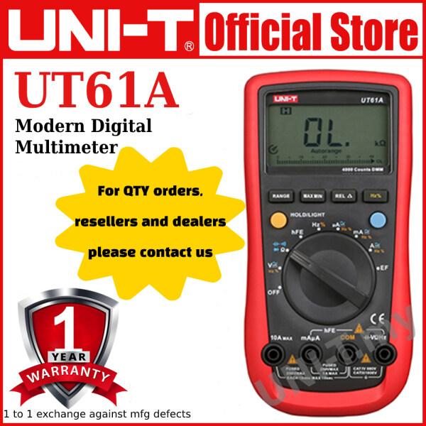 UNI-T UT61C/UT61A/UT61B/UT61E Modern Digital Multimeter