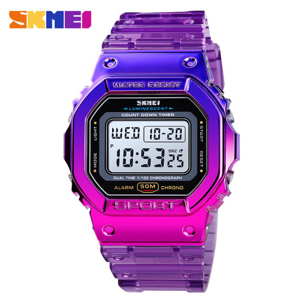 New SKMEI Women Sports Watches Waterproof Watch Alarm Digital Wristwatches Jam tangan wanita Women 1622 Malaysia