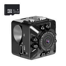 Camera An Ninh OrzBuy Nhỏ Gọn Full HD 1080P, Camera An Ninh Lắp Trong Và Ngoài Nhà, Camera Nhỏ, Camera Nhỏ Mang Theo Được, Camera Giám Sát Vú Em Phát Hiện Chuyển Động Và Tầm Nhìn Hồng Ngoại