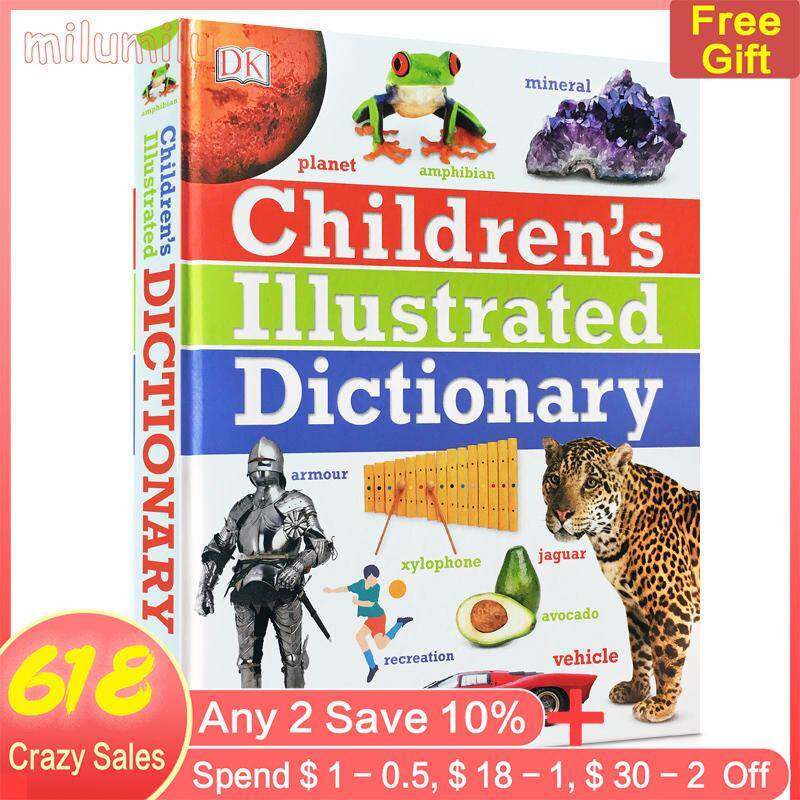 Childrens Dictionary DK Childrens Illustrated Dictionary Children English 5000 Words Reference Book 6-12 Years Old