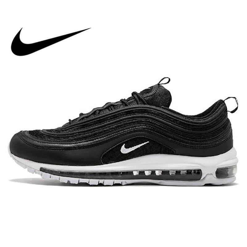 2019 Hot Top Original Nike Air Max 97 Men's Breathable Running Shoes Sports Sneakers Men's Tennis Classic Breathable Low top Classic Discount