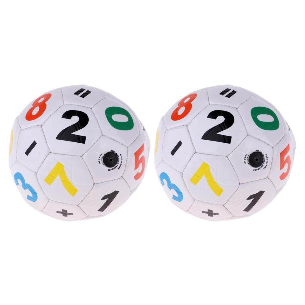 Keajaiban Bersinar 2 Pcs Mini Resmi Ukuran 2 Bola Sepak Anak Bola Sepak Untuk Unisex Anak Laki-Laki Perempuan By Miracle Shining.
