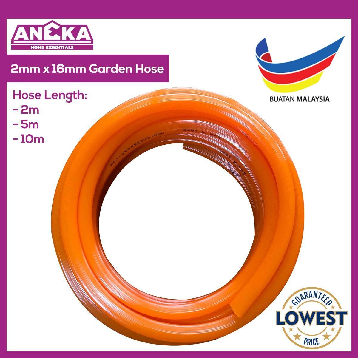 Aneka Premium 2 / 5 / 10 Meters Water Hose Garden Hose Lawn PVC Pipe 16mm Diameter