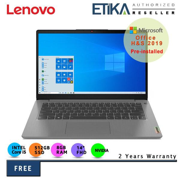 Lenovo IdeaPad 3 14ITL6 82H700DBMJ 14 FHD Laptop (Intel i5-1135G7/ 8GB/ 512GB SSD/ MX350 2GD5/ W10+H&S) Malaysia