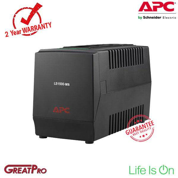 APC VOLTAGE REGULATOR LINE-R 1500VA (LS1500-MS) -GREATPRO