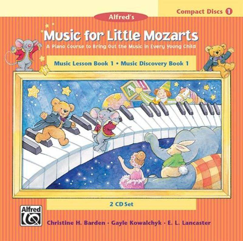 Music for Little Mozarts: CD 2-Disc Sets for Lesson and Discovery Books, Level 1 Malaysia