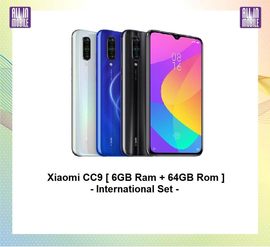 Xiaomi Mi CC9 [ 6GB Ram + 64/128GB Rom ] Ori Import Set