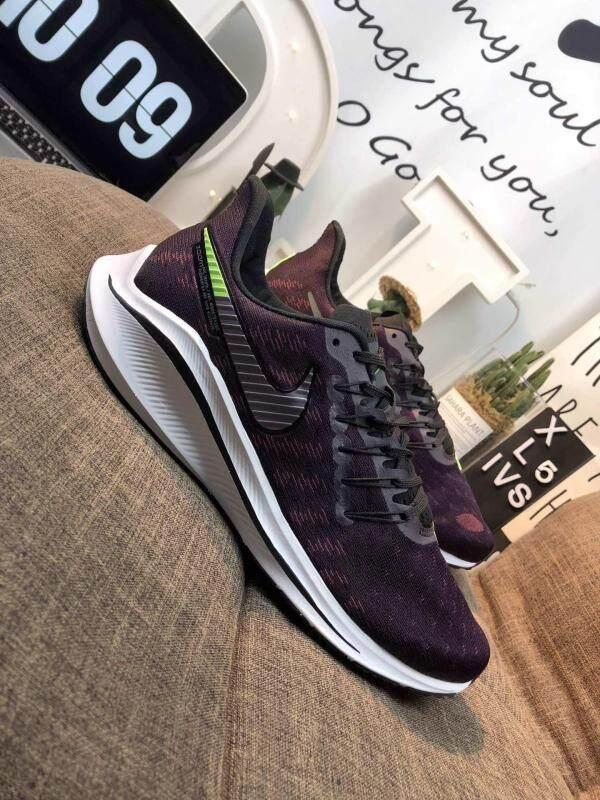 Flash! Resmi Fashion Laris! Nike_Air Zoom_VOMERO Sepatu Kets Lari Hitam Harga Grosir