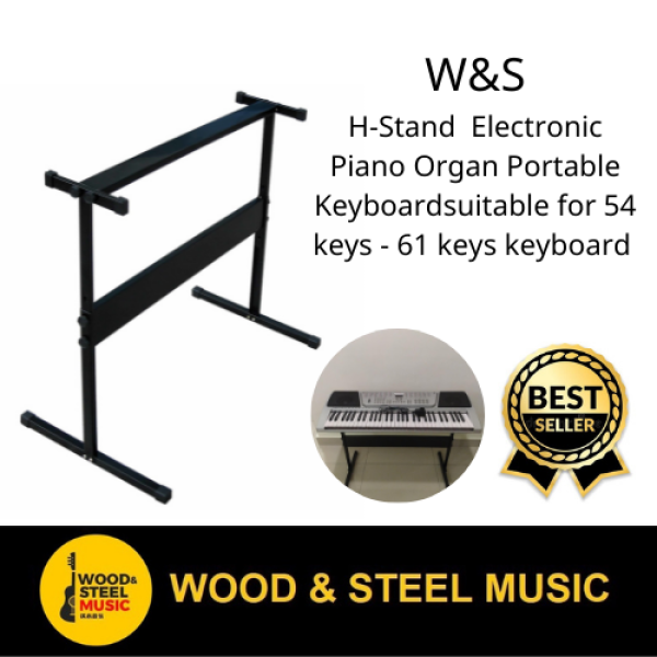 W&S Music Piano Keyboard H Stand Easy Self Installationfor  for  Electronic Piano Organ Portable Keyboard Malaysia