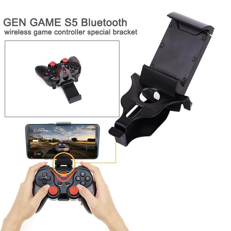 Gogostore Gamepad Bracket Adjustable Gaming Joystick Bluetooth Gamepad Game Controller Wireless Gamepad Gamepad Console Holder Handle Bracket Video Game Accessories Video Games Durable By Gogostore.