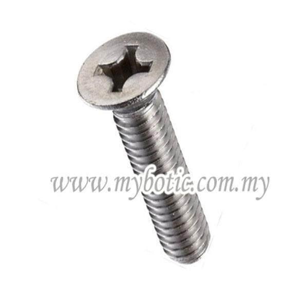 304 M2*16 Flat Head Screw (20pcs)