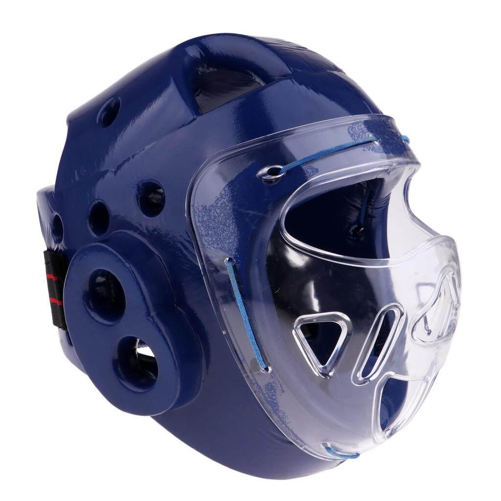 Breathable Head Guard Helmet Boxing Martial Arts Headgear MMA Face Protector